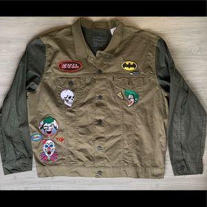 Levi Strauss Men's Batman Exclusive Theme Jacket